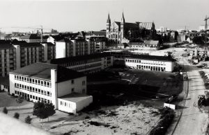 Reconstruction du quartier en 1970