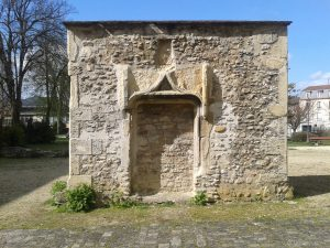 Porte dortoir Abbaye Saint-Remi