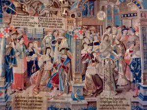 Tapisserie baptême Clovis